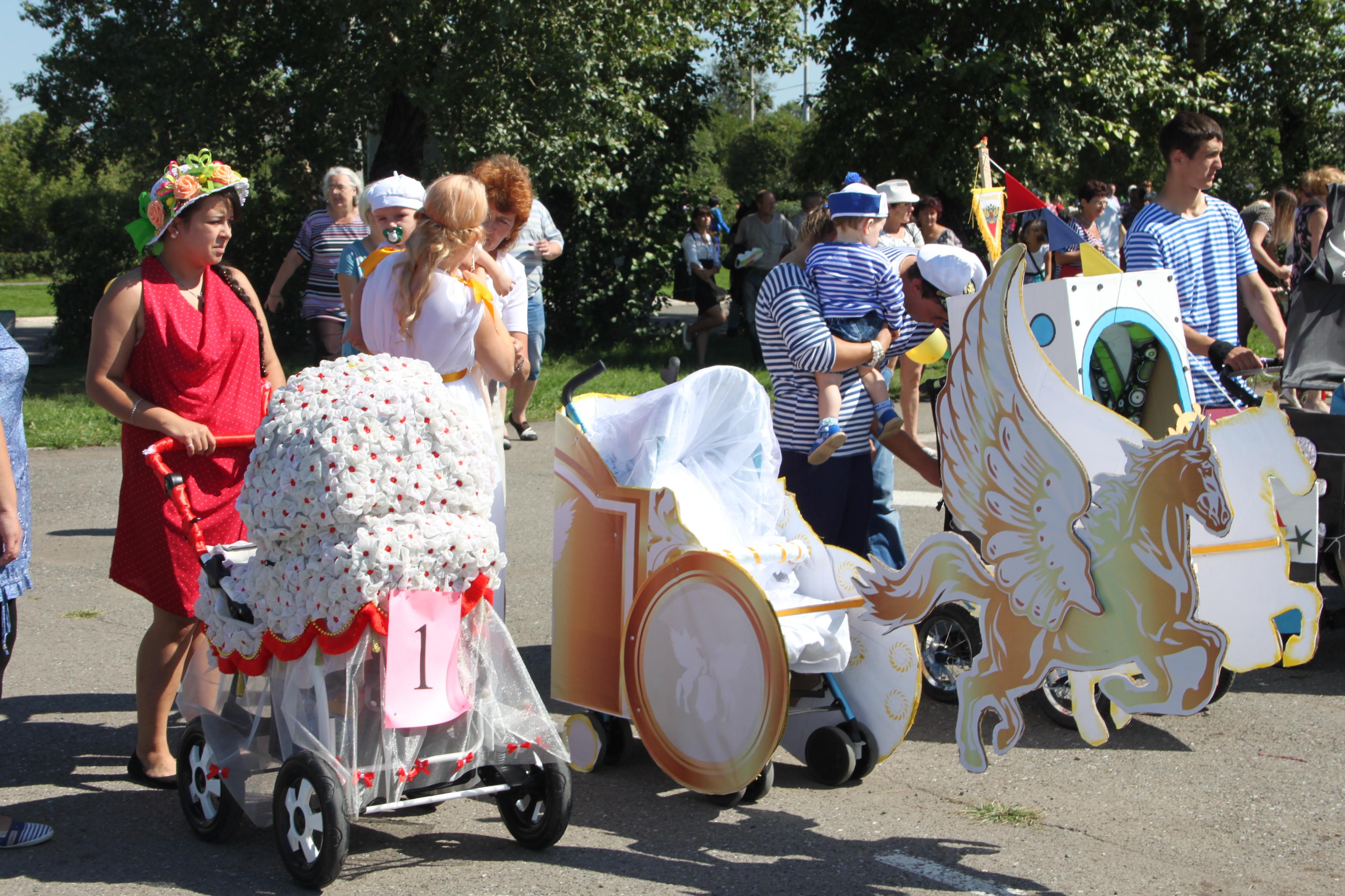 Украшение коляски своими руками для парада картинки